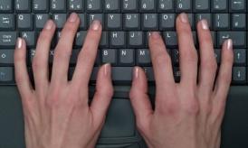 blog post writing keyboard
