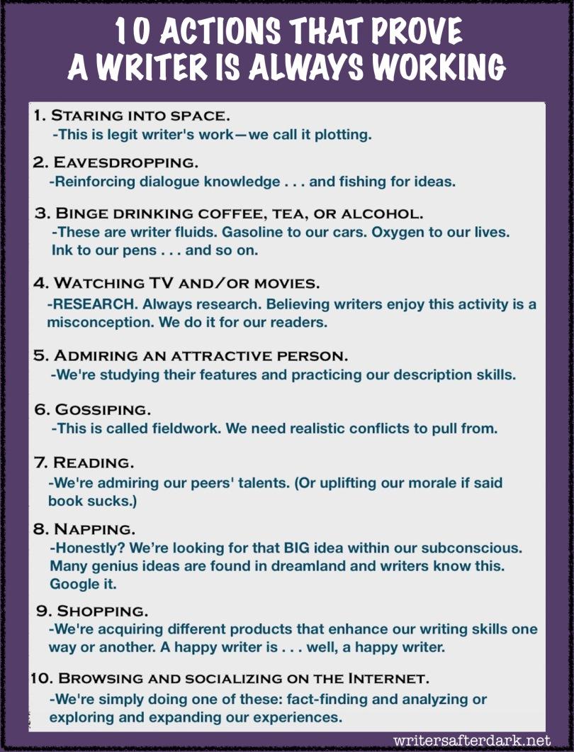 10-ways-writers-always-working