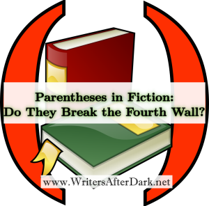 parenthesis in fiction