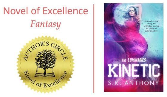 Kinetic: Winner of Novel of Excellence