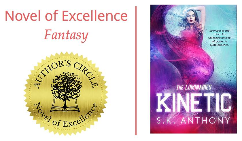 Kinetic: Winner of Novel of Excellence